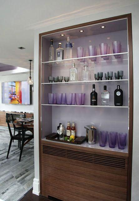 Wall bar: 60 amazing designs, designs and photos 57