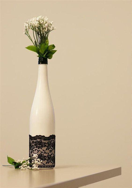 Glass Bottle Craft: 80 Awesome Tips and Photos 2