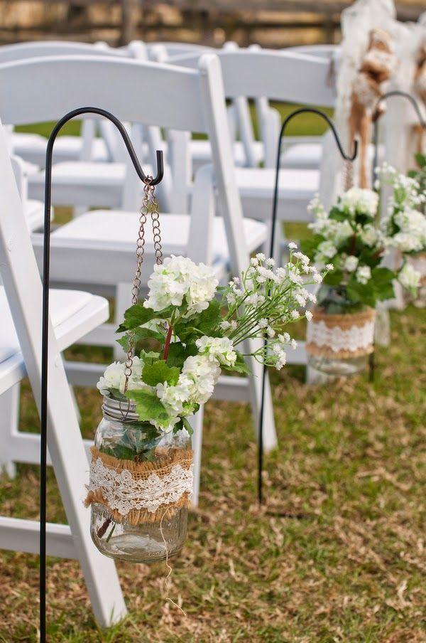 Rustic wedding: 80 decorating ideas, photos and DIY 14