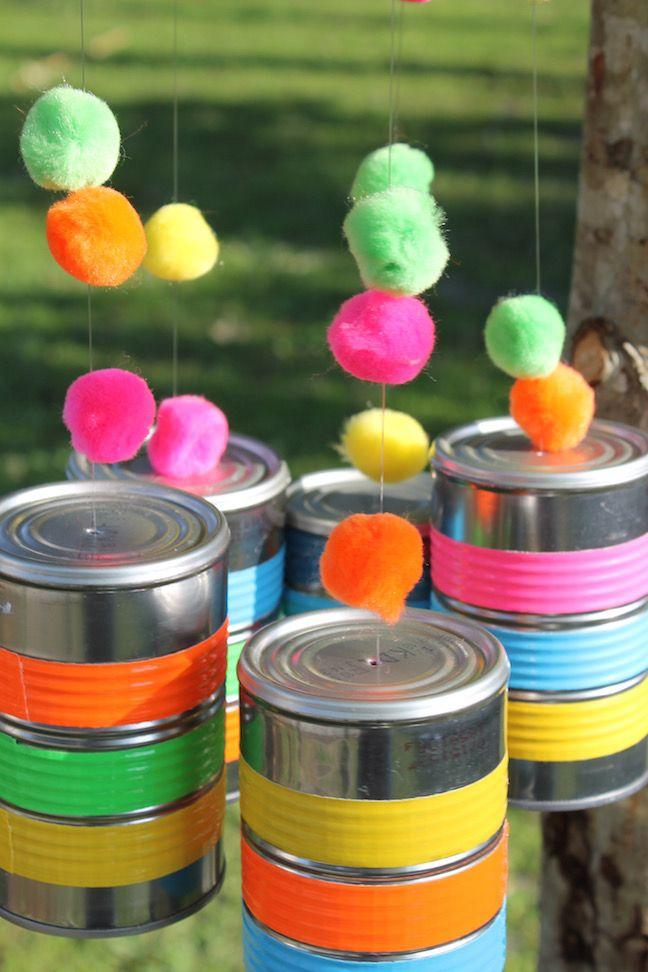 Cans decorated: 70 cool ideas to make at home 59