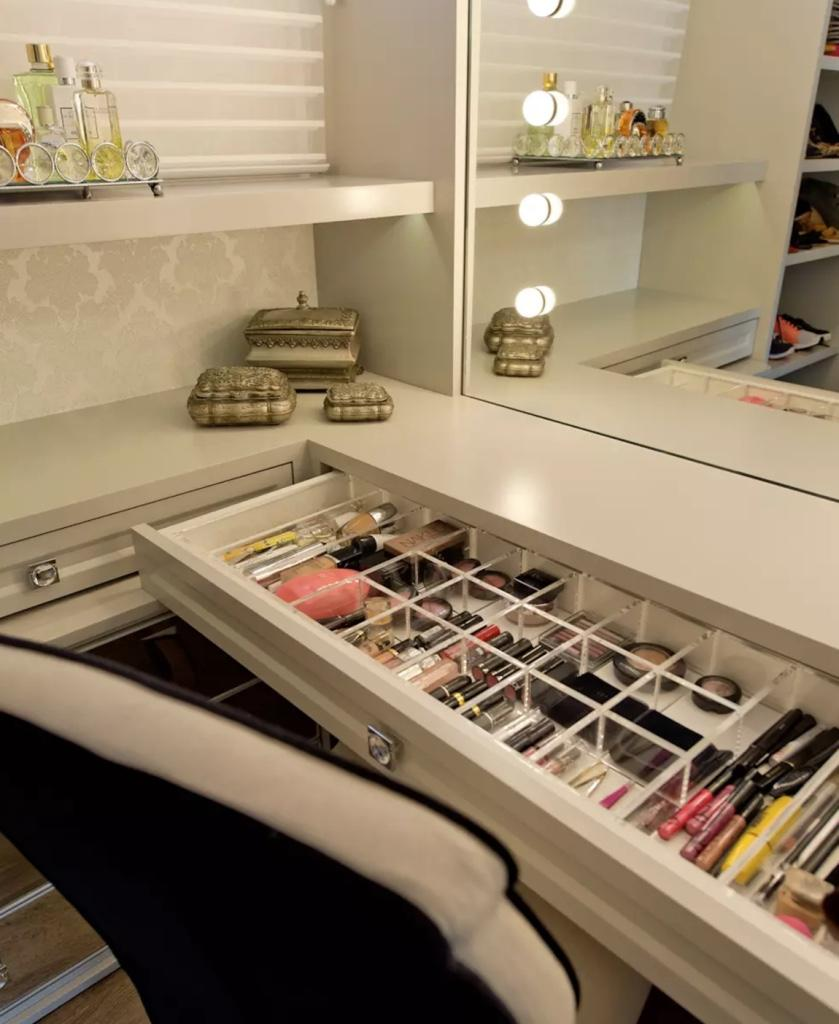Makeup table: 60 ideas to decorate and organize 52