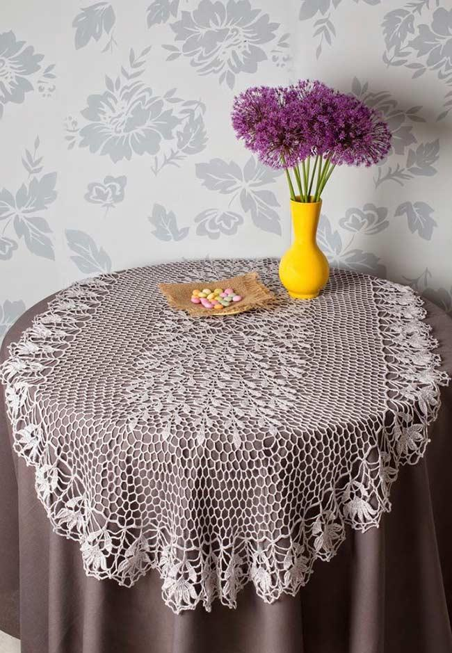Crochet towel: ideas to add table decoration 14