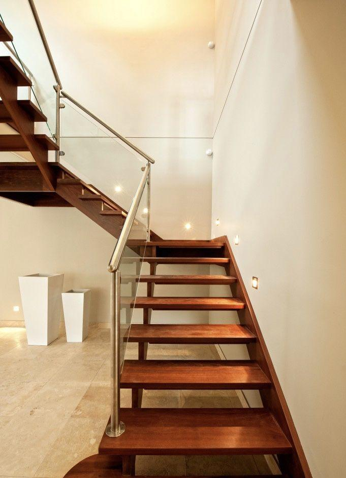 Stainless steel handrail: see tips and 60 models with photos 30