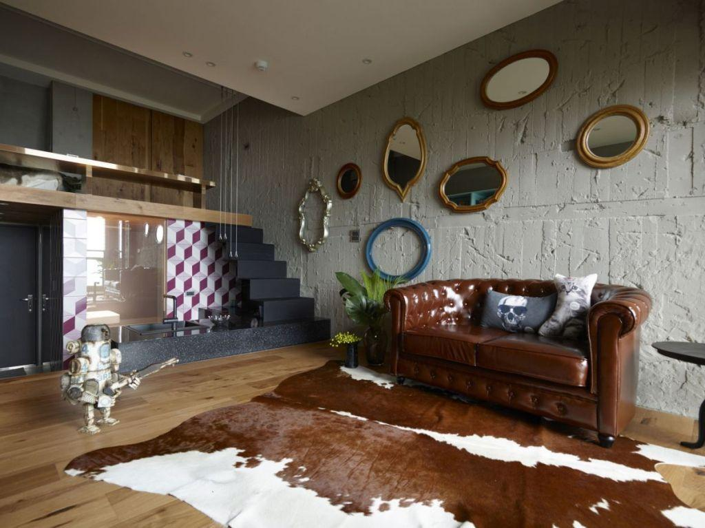 Leather sofa: 70 amazing models to decorate environments 55