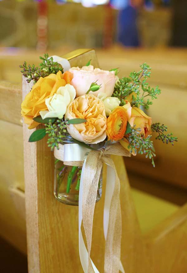 Church Decorating for Marriage: 60 Creative Ideas Be Inspired 7