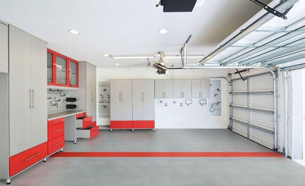 Garage floor: see the main types and ideas to be inspired 48