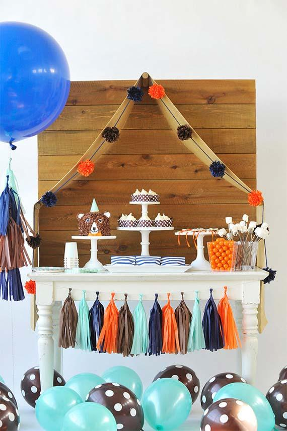 Childrens party decoration: step-by-step and creative ideas 40
