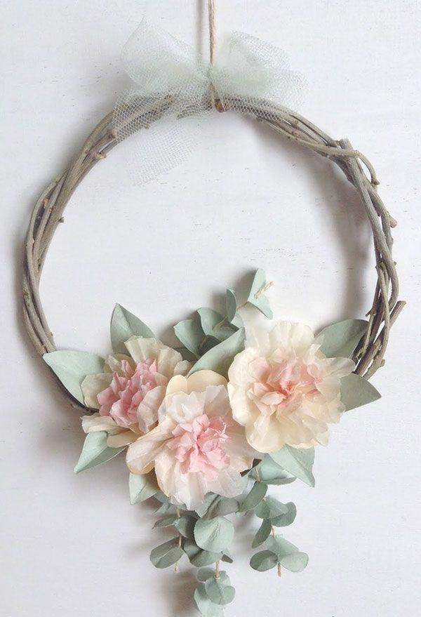 Delicate flowers for garland