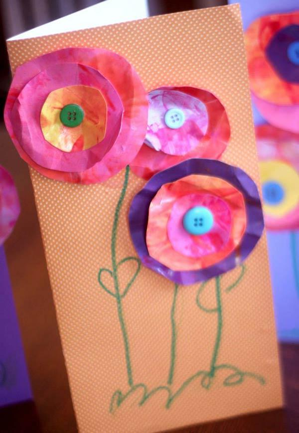 Flowers to do with little ones