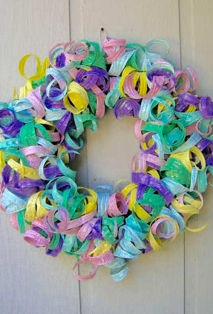 Super colorful and festive garland