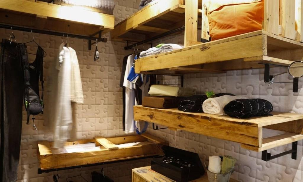 Pallet wardrobe: 50 ideas to include in the decoration