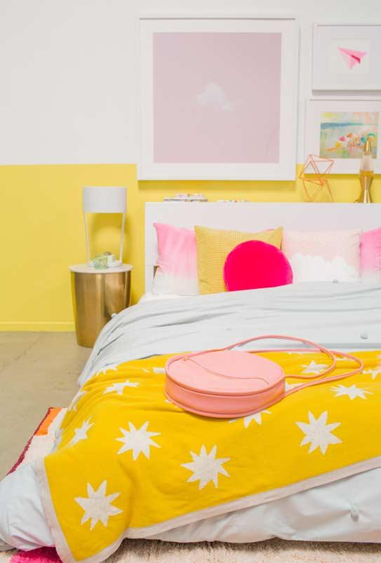Pinterest room with yellow color