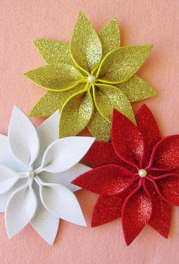 EVA Christmas Ornaments: 60 Ideas and How to Make It Step by Step 13