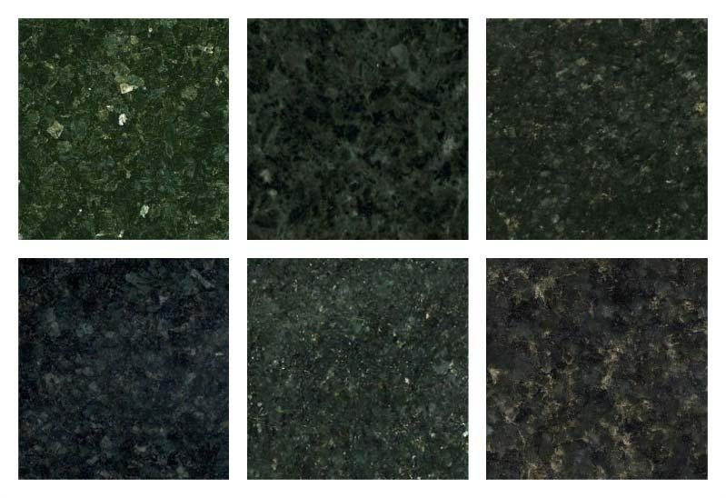 Shades of granite Green Ubatuba