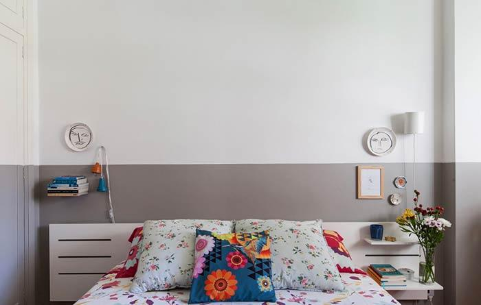 Make a simple and cheap bedside room