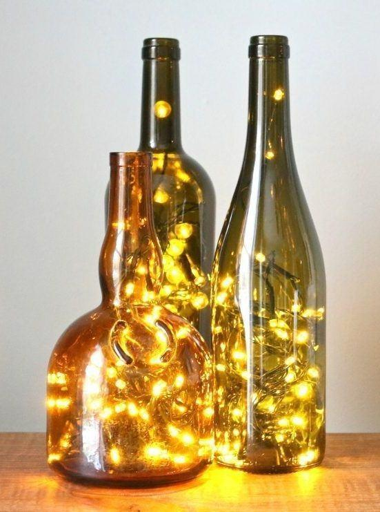 Craft with Glass Bottle: 80 Amazing Tips and Photos 59