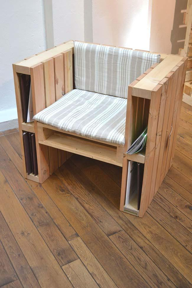 Armchair of pallet