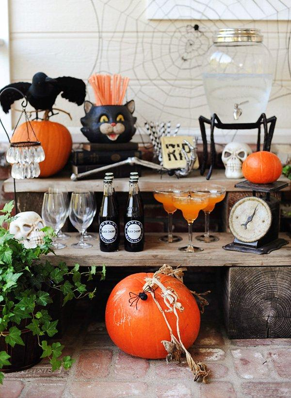 Halloween Party: 60 decorating ideas and theme 9 photos