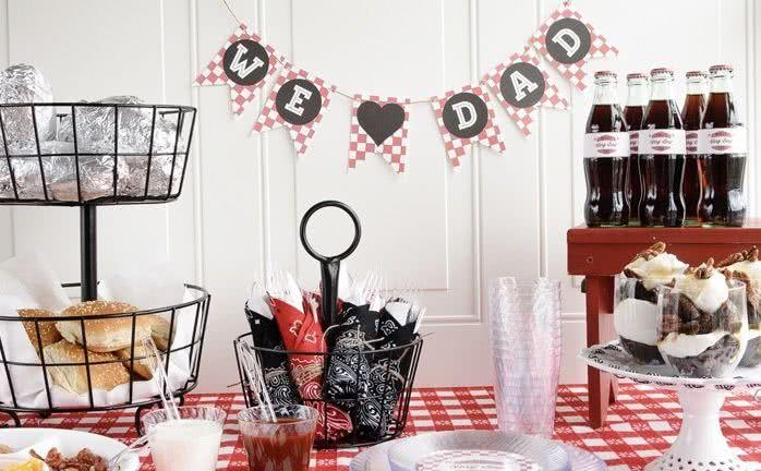 Father's Day Decor: 60 creative ideas with step by step 41