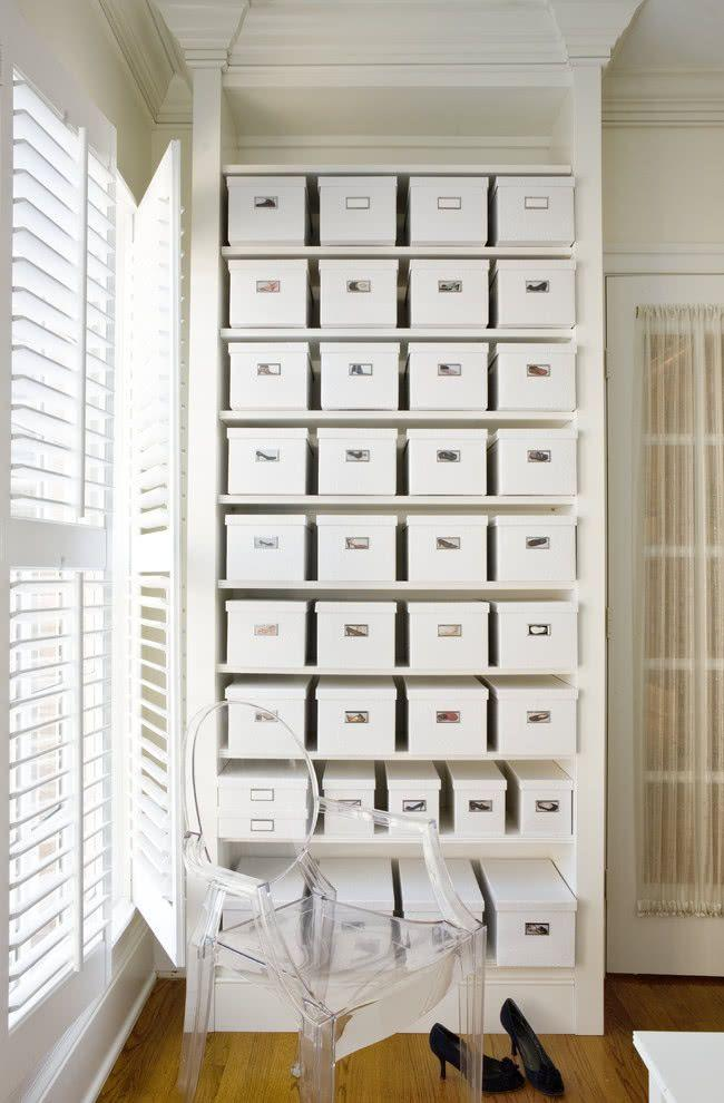 60 ideas and tips on how to organize shoes 48