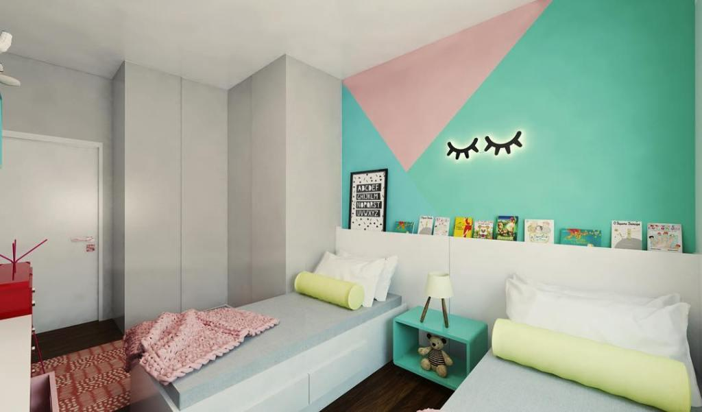Add color to a shared room