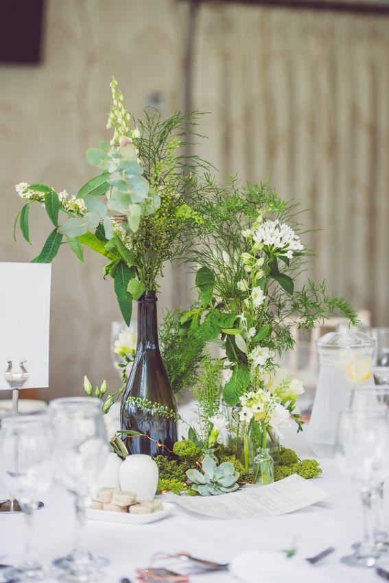 Wedding arrangements: 70 ideas for table, flowers and decoration 20