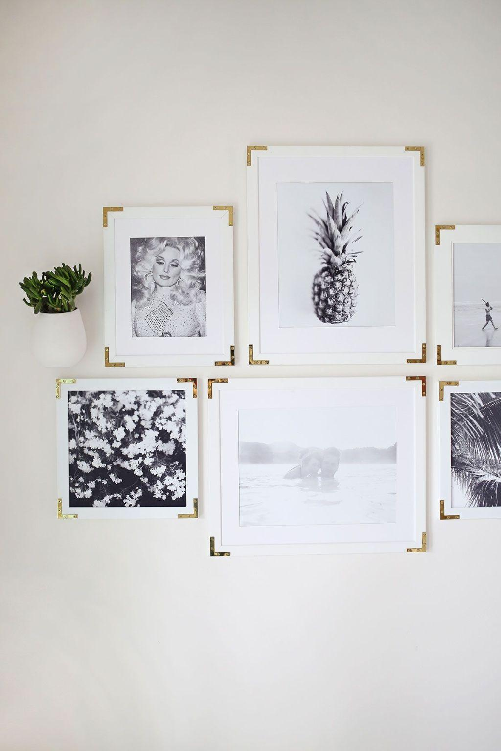 How to make handmade frames: models, photos and step by step 7