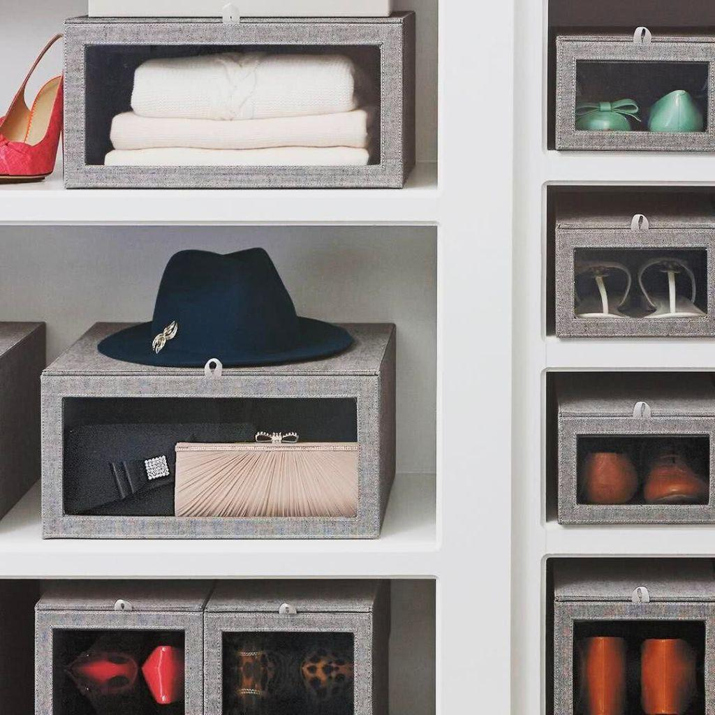 60 ideas and tips on how to organize shoes 30