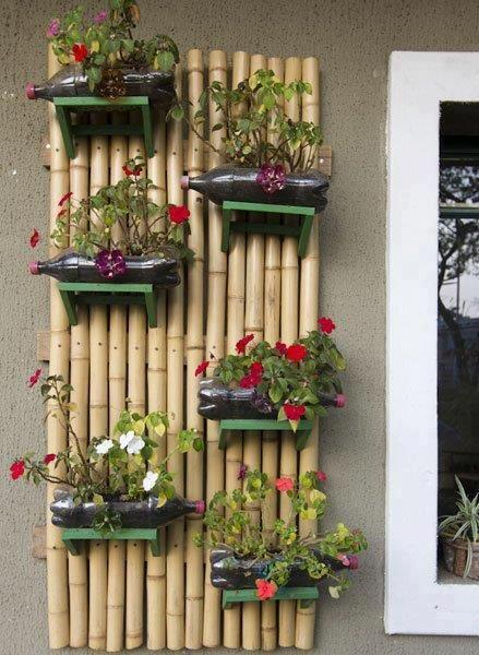 Bamboo Crafts: 60 models, photos and step by step DIY 1