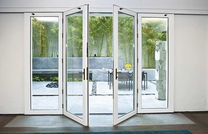 Glass door: 60 ideas and projects to inspire 9
