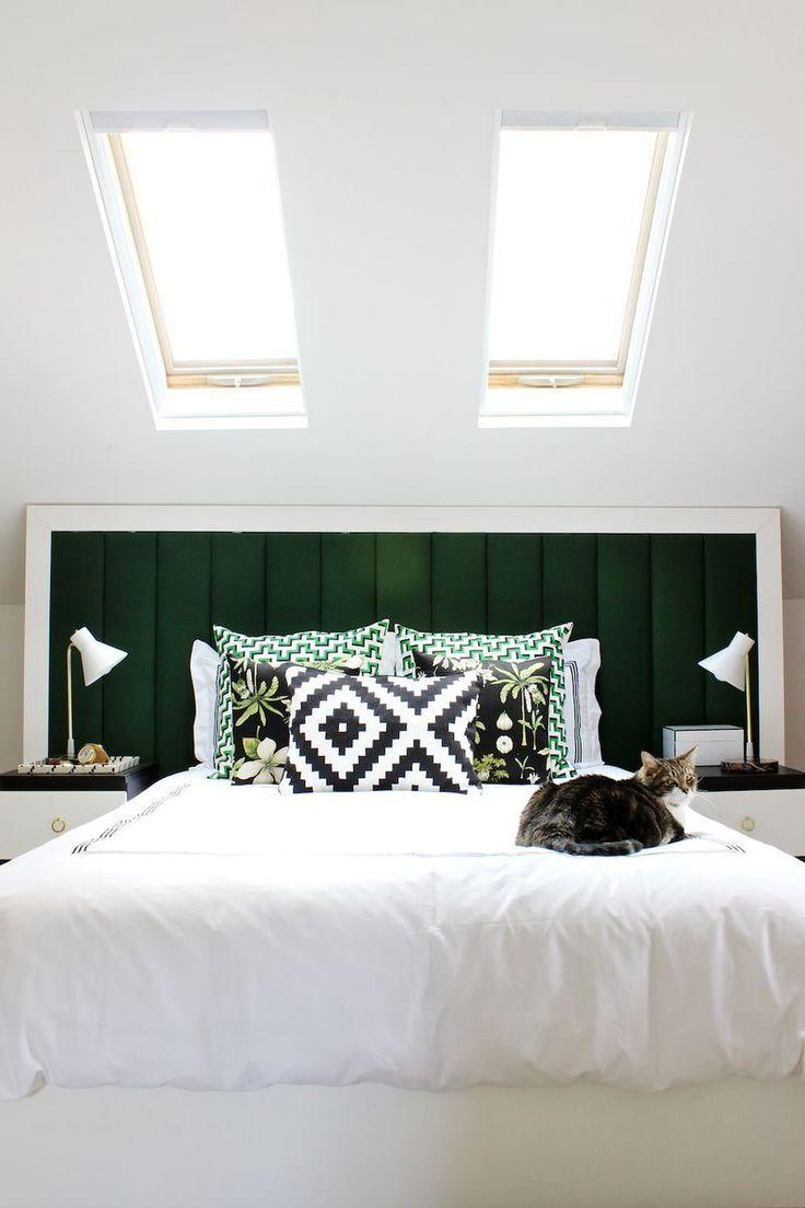 The bed itself can receive the upholstery for the headboard
