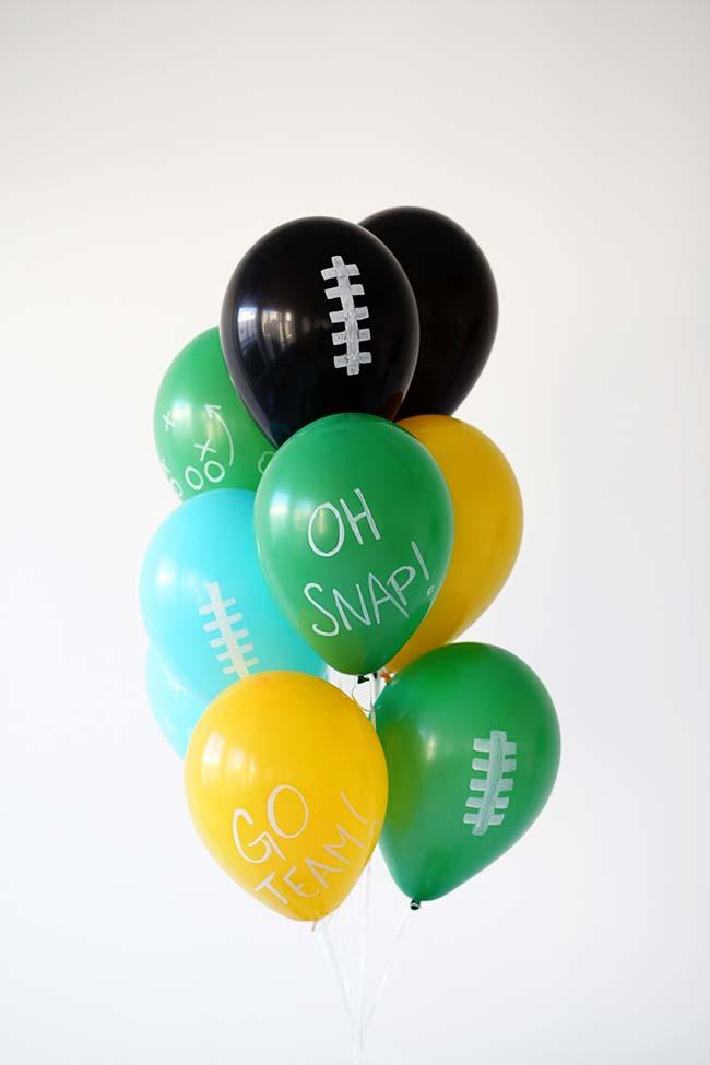 Simple party balloons