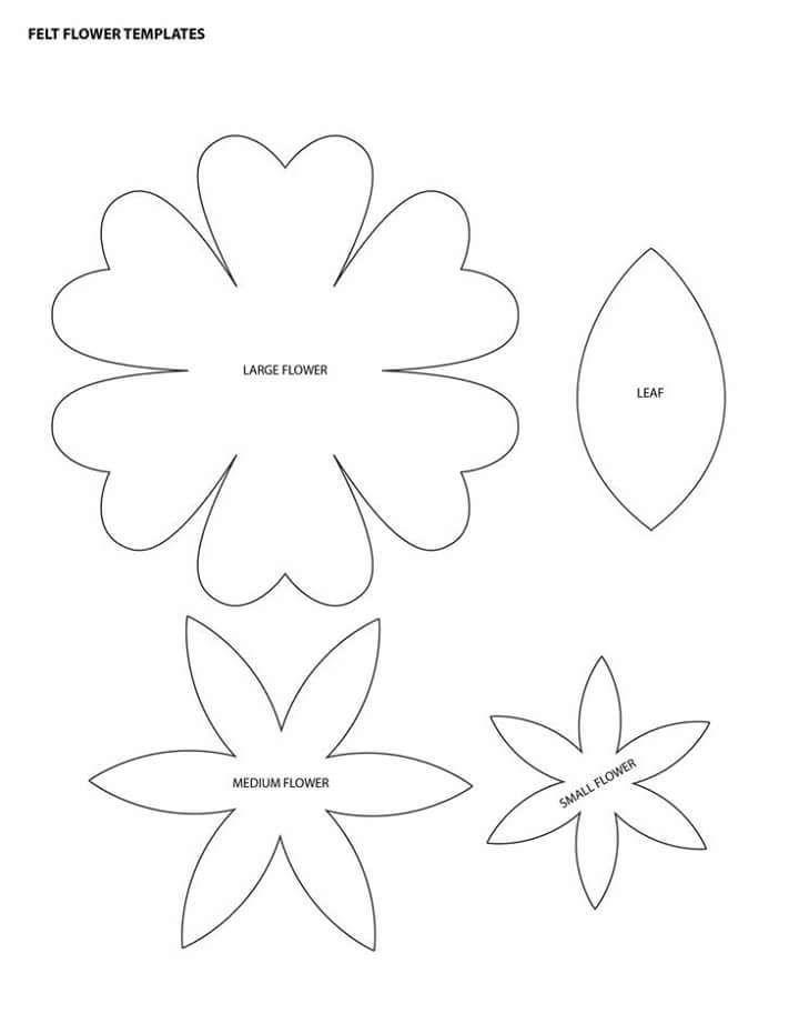 Flowers of EVA: 70 ideas, molds and step by step 76