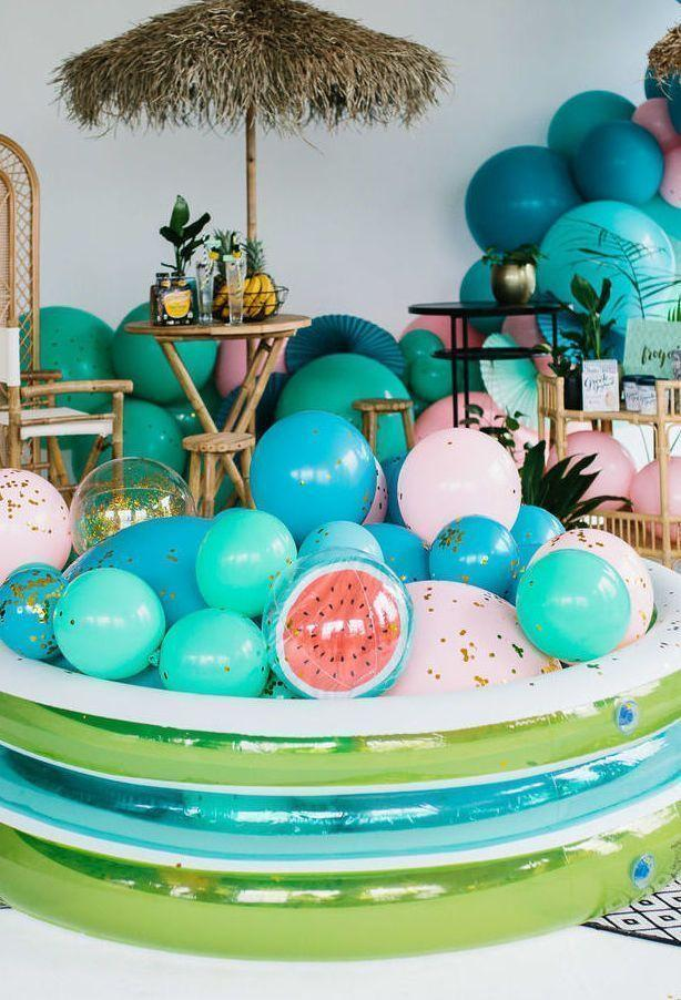 Decoration with balloons: 85 inspirations to decorate 18