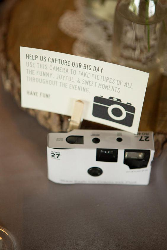 Disposable cameras to record more moments