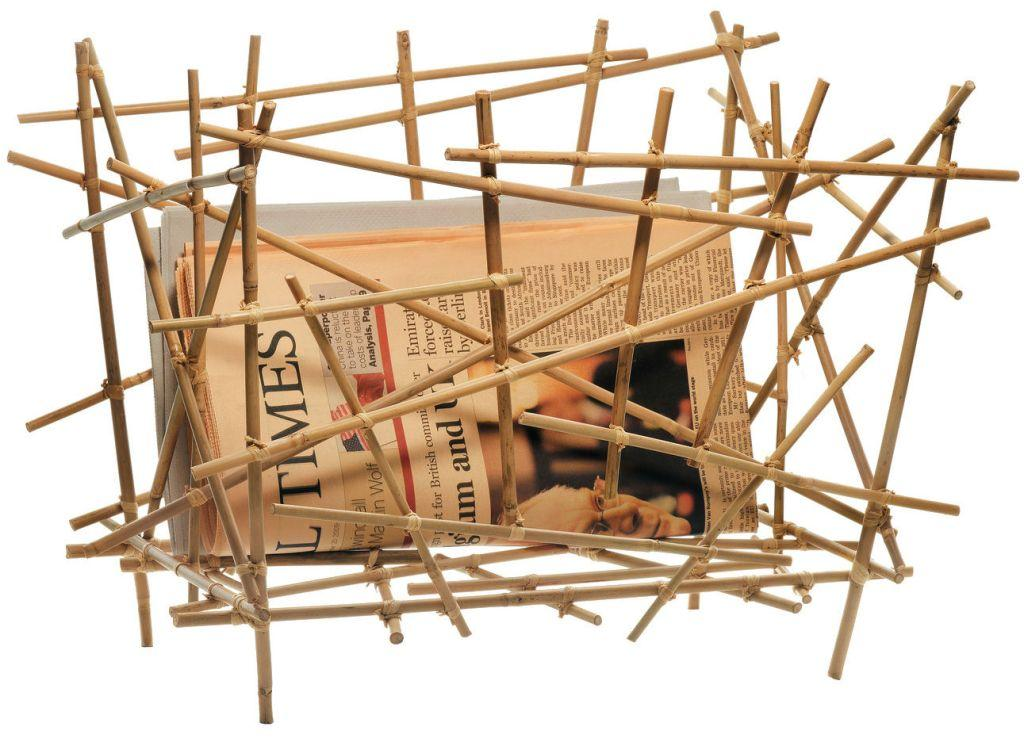 Bamboo Crafts: 60 models, photos and step by step DIY 16