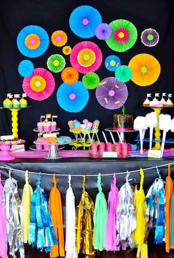 Festa Neon: 60 decorating ideas and photos of theme 2