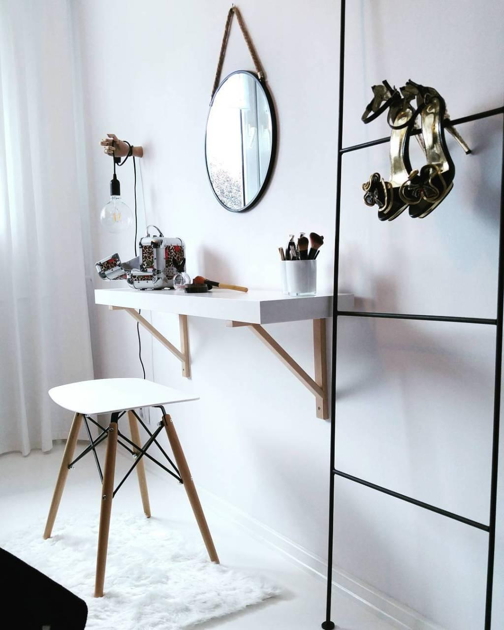 Makeup table: 60 ideas to decorate and organize 28