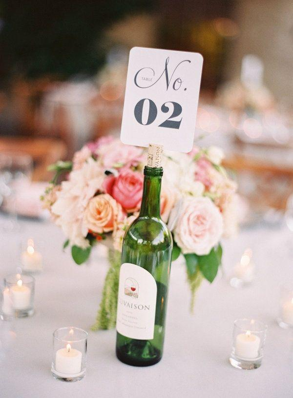 Table Top with Bottle: See Beautiful Ideas to Decorate the Table 20