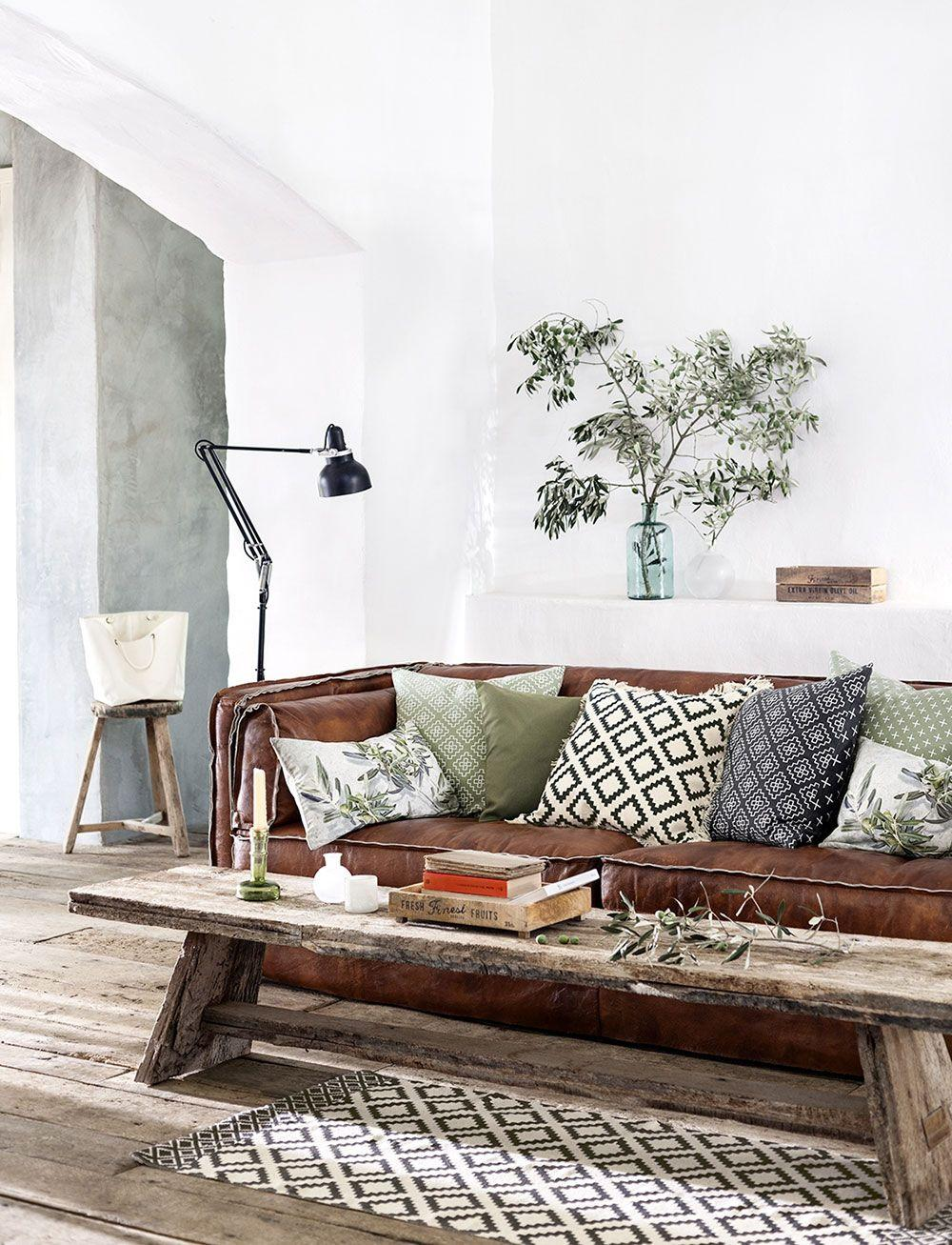 Leather sofa: 70 incredible models to decorate environments 23