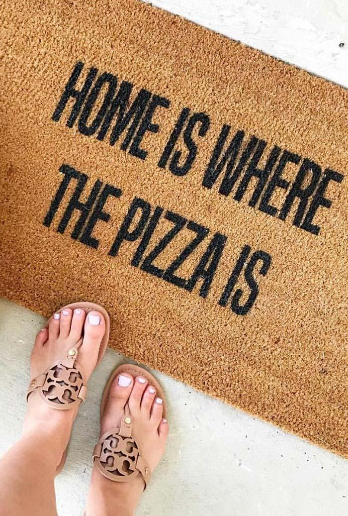 Fun doormats: welcome to brighten your home 7