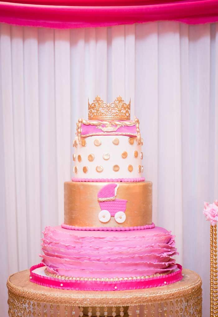 Cake of the luxurious princess party