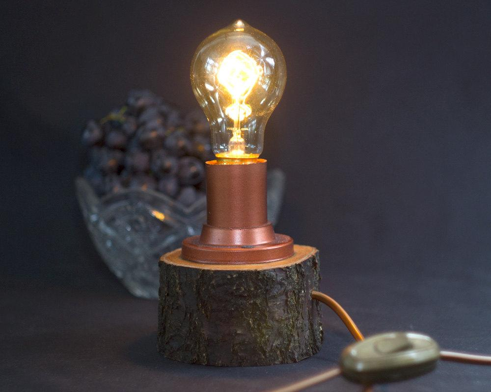 Rustic lamp: 72 different models to inspire 59
