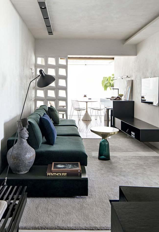Room of neutral tones used the white burnt cement on the walls and ceiling
