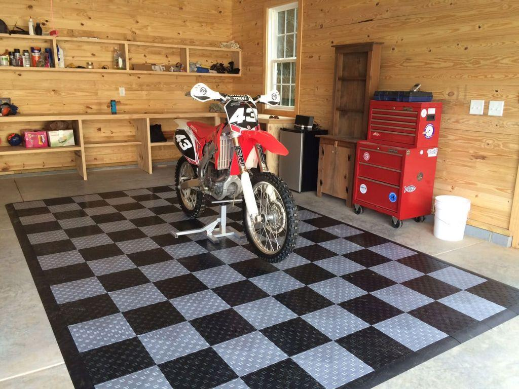Garage floor: see key types and ideas for inspiration 46
