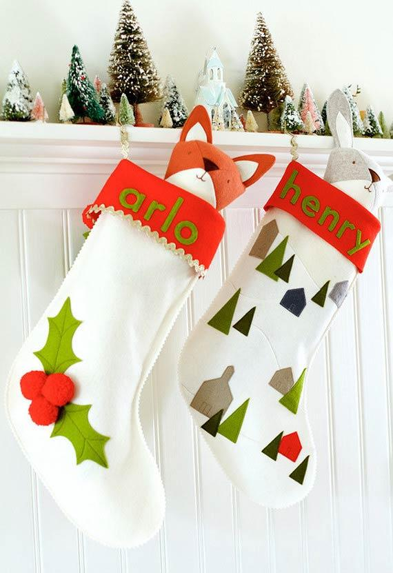 More decorative socks for Christmas decoration