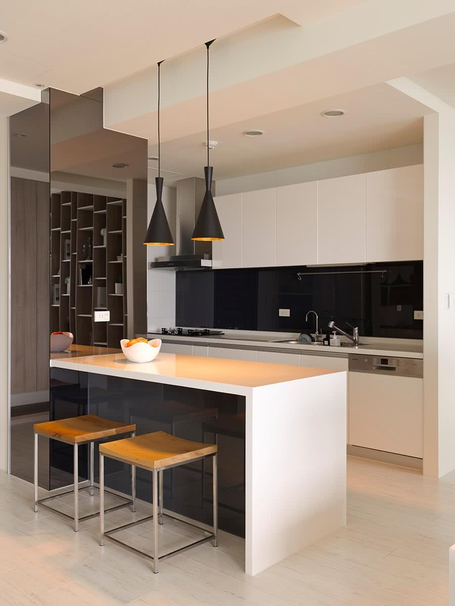 Black and white decoration: 60 ideas of environments to be inspired 14