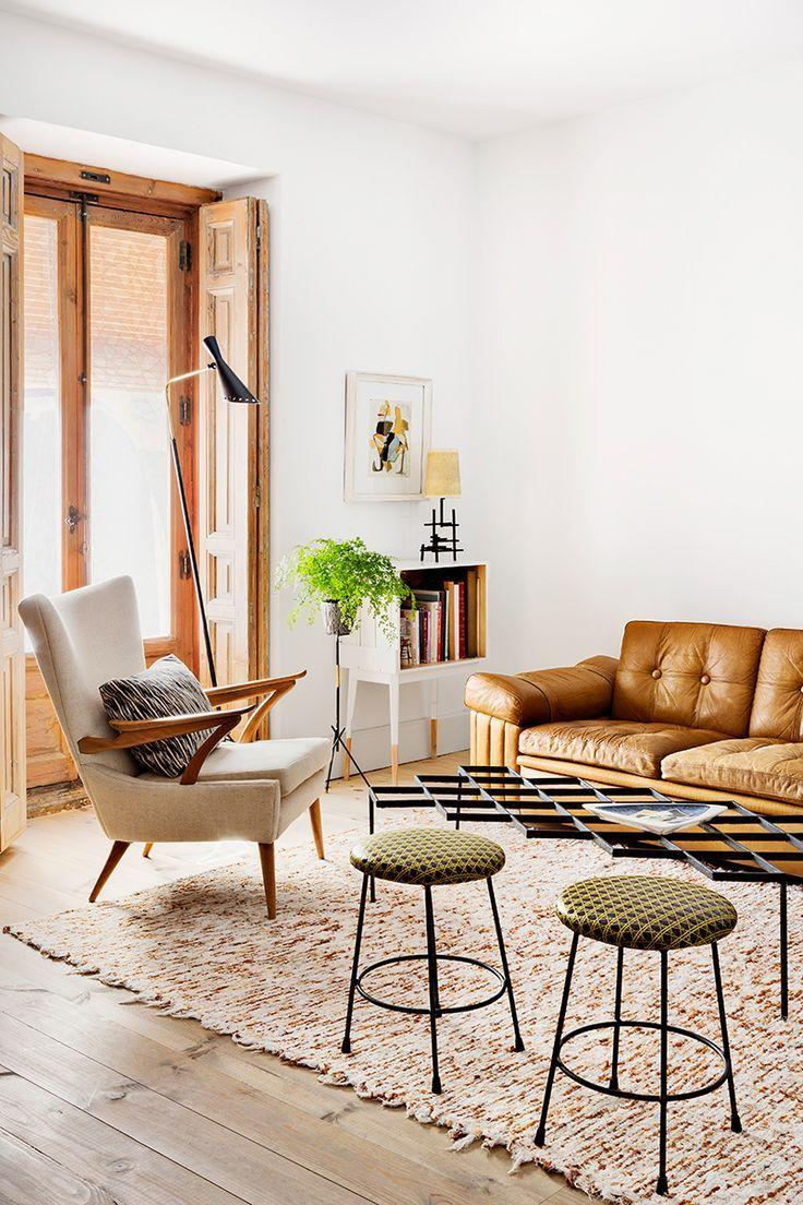 Leather sofa: 70 incredible models to decorate environments 31