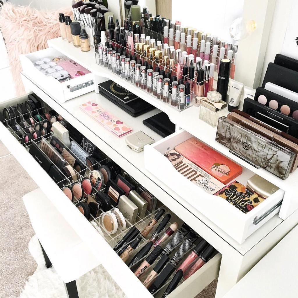 Makeup table: 60 ideas to decorate and organize 53