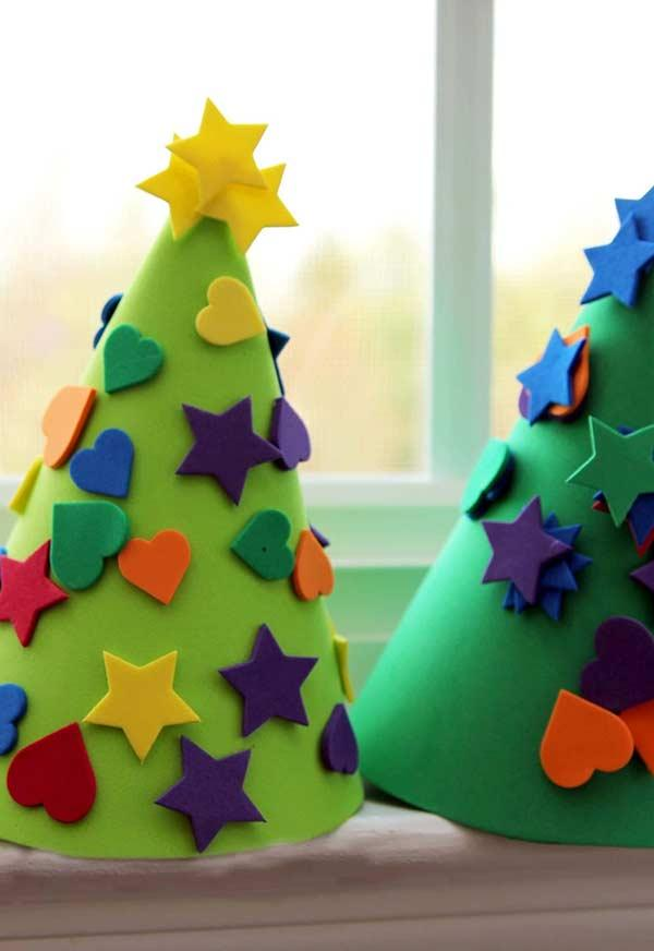 EVA Christmas ornaments: 60 ideas and how to do step by step 3